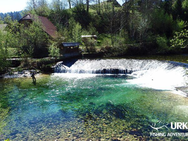 Radovna River ... Fly fishing in Slovenia