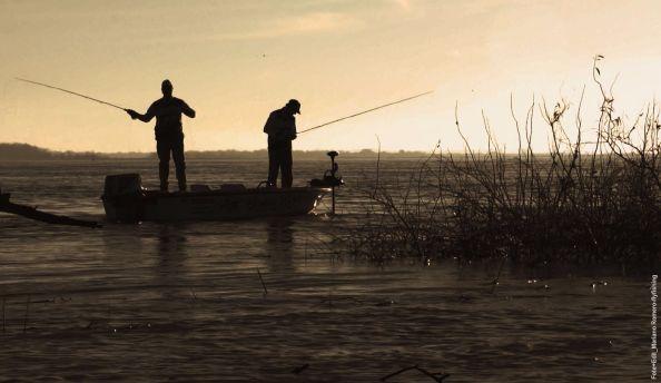 Imagenes del próximo video, filmado en el Paraná Inferior