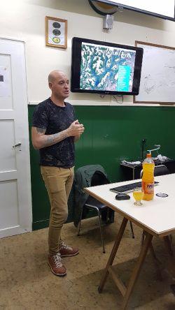 Gracias Walter Ruíz por compartir tu conocimiento en el Club San Huberto