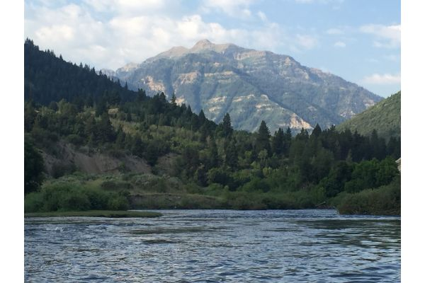 Provo River, Heber City, Utah, United States