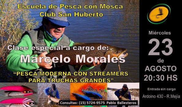 Clase Especial del Sr. Marcelo Morales  Pesca moderna con streamers para truchas grandes