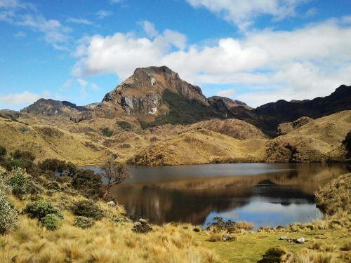 """Parque Nacional """"EL CAJAS"""". El Parque Nacional Cajas está situado en los Andes, al sur del Ecuador, en la provincia del Azuay , a 35km aproximadamente al noroccidente de la ciudad de Cuenca, es un área protegida de Ecuador por la biodiversidad de es..."""