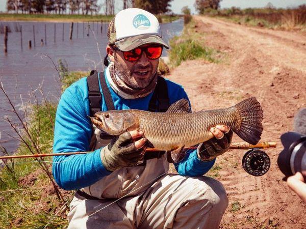 Pesca de Tarariras con Mosca