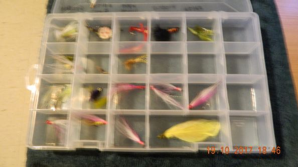 Just some of the flies I'll be using during the 2017/18 Australian Summer