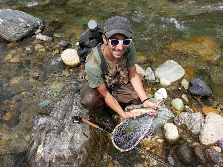 Niseko flyfishing and tenkara