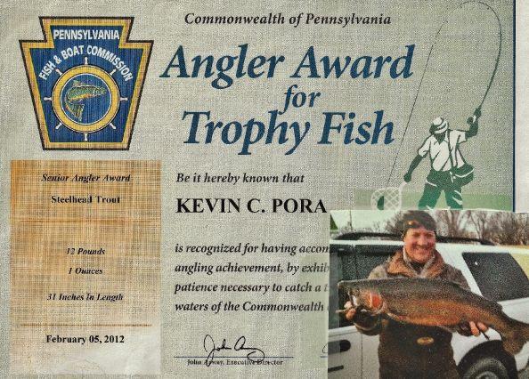PFBC Angler Award