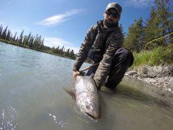 Kasilof River, Cooper Landing, Alaska, United States