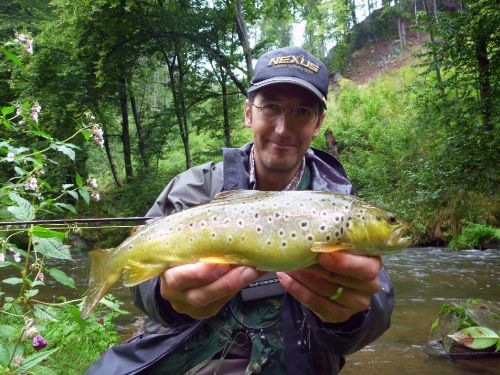 Fd: Can you tell us a bit about the origins of fly fishing in your country? There are lots of interesting and uncommon species for fly fishing in Czech republic besides typical brown trout, rainbow trout, grayling and brook trout. It is worth to mention f...