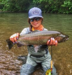 The Little Juniata River, spruce creek, Pennsylvania, United States