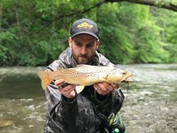 The Little Juniata River, Tyrone, Pennsylvania, United States