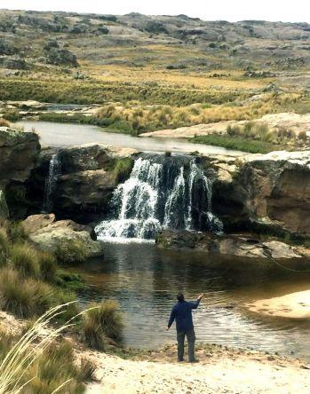 A dos meses para pescar truchas en Córdoba. Los esperamos www.pescaserrana.com.ar - contactanos: 3544 415188
