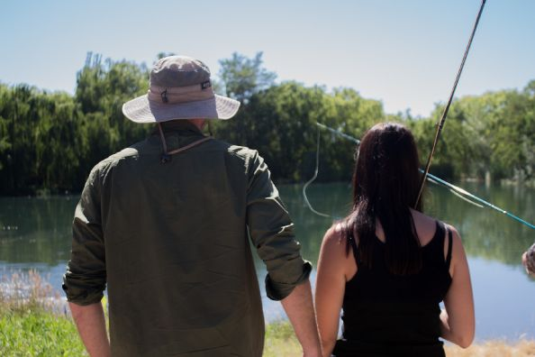We not only want to catch a fish, but to also create moments