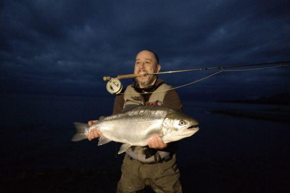 Ocaso en el Lago Llanquihue...todavía paga.