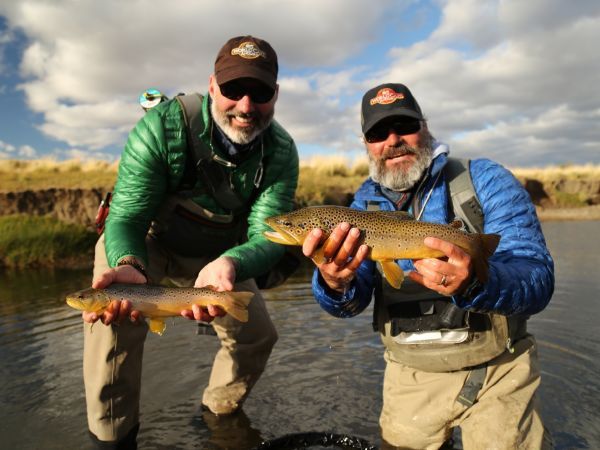 During a hard summer, dry fly only