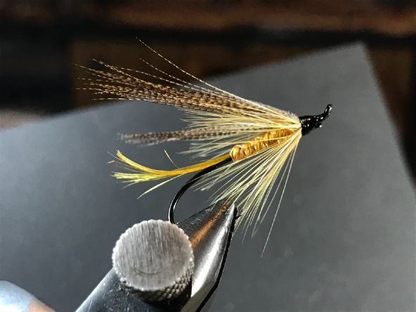 My work. Start tying spring wet pattern. For day time hatch.