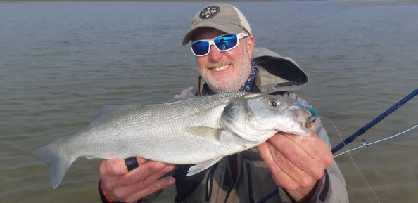 Spring on the wexford coast, finding the bass