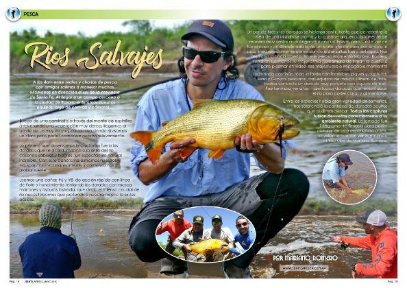 Dorados en Ríos Salvajes... una pesca super potente