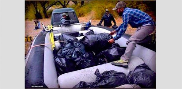 Argentina: Jornada de limpieza del Río Limay, próximo domingo 9 de Junio. Organiza AGP. Los interesados pueden anotarse escribiendo a secretaria@guiaspatagonicos.com.ar