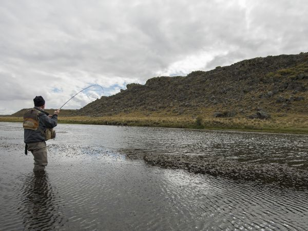 A path trough different patagonic estancias and creeks
