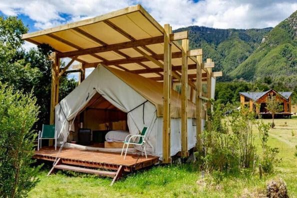 Matapiojo Lodge, Patagonia chilena. 100% Fly Fishing 100% Glamping