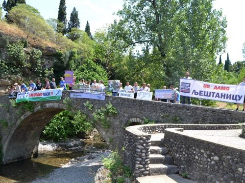 People took to the streets in many countries of the Balkan region to protest against the destruction of the last wild river landscapes in Europe. From July 6 to 16, 2019 around 1000 people took part in protests in Albania, Serbia, Montenegro, North Macedo...