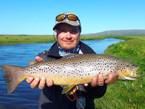 Fd: Can you tell us how the idea of setting up a fly fishing guide service in Iceland came up?As soon as I started fly fishing I knew that I would like to do that in the future. I wanted to be on the riverbank as much as possible. So when Iguided for the ...