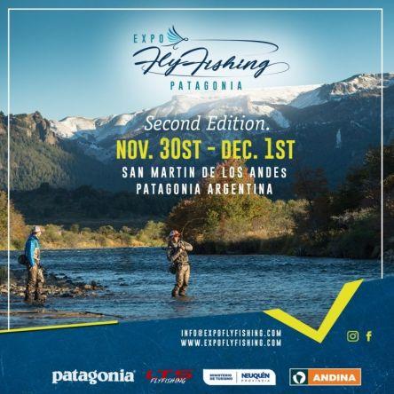 30 de Noviembre y 1ro de Diciembre de 2019 en San Martín de los Andes.  Email: info@expoflyfishing.com Whatsapp: +54 9 2972 495672