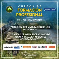 Expo Fly Fishing Patagonia: Temario completo de los cursos