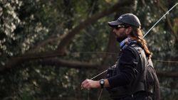 Compañero de pesca para documental en Patagonia