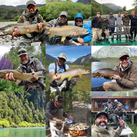 Feliz años nuevo 2020 desde Matapiojo Lodge Patagonia, Chile 🎆🚣♂️👍