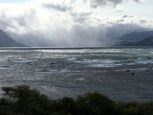Boca rio chimehuin  7 de enero