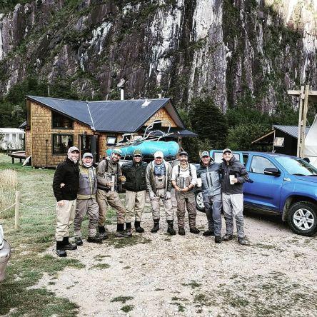 Gran grupo de Uruguay: @kito_uy @danny_sanguinetti Pipo, Jorge, @pablo.realini and Hector. Grandes pescadores y personas 👍