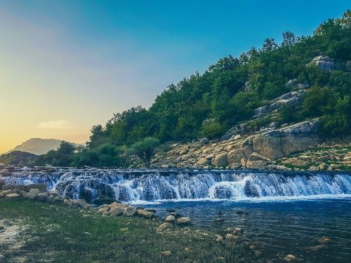 """Cetina river is the queen of Dalmatia. It is long 101 kilometres and it flows from 3 strong mountain wells. First 70 kilometres are a highly appreciated fishing area. It's home to the brown trout, grayling and numerous endemic species, such as """"zebra""""..."""