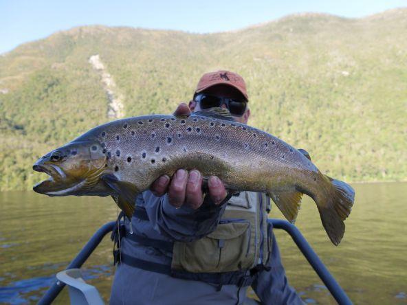 Operación de pesca en Futaleufú y alrededores